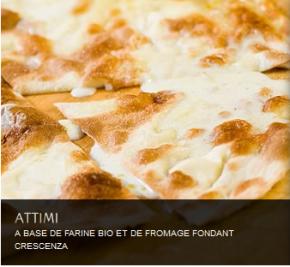 «Attimi» le nom d'un restaurant italien mais bien plusencore…
